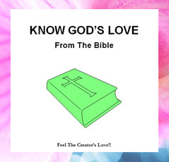 ebook cover image for Know God's Love From the Bible