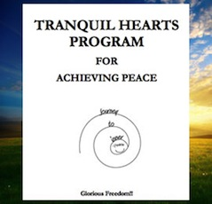 ebook cover image for the Tranquil Hearts Program for Achieving Peace