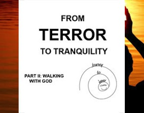 ebook cover image From Terror to Tranquility Part II: Walking With God