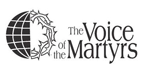 Voice of the Martyrs logo | assisting persecuted Christians around the world.